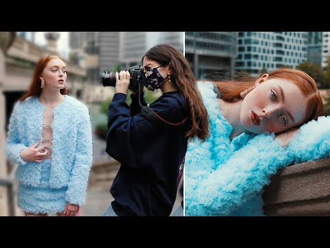 MY PORTRAIT PHOTOSHOOT IN CHICAGO WITH A MODEL
