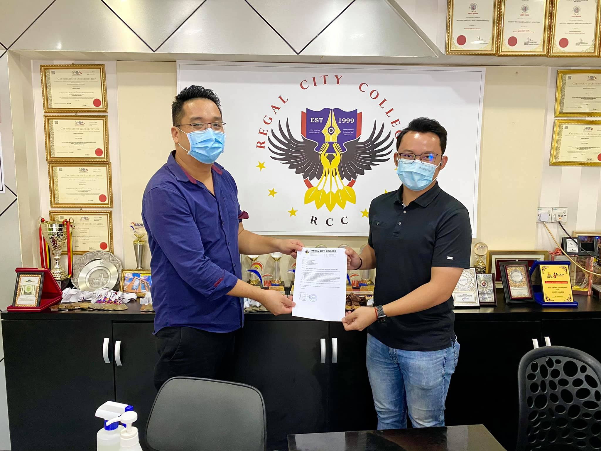 SARAWAK ESPORTS ASSOCIATION is now official Smart Industrial Partner with Regal …