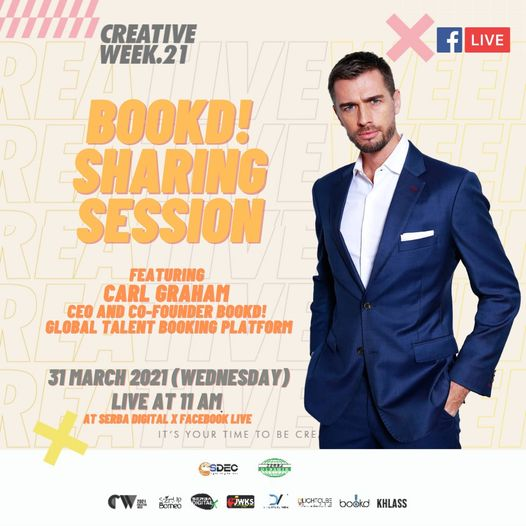 Going LIVE on @serba.digitalx Facebook Page. 31st March at 11am MYT.  Join @carl…