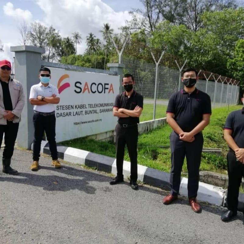 Sesi lawatan kerja ke tapak projek ADSI Engineering Sdn Bhd di SACOFA, stesen ka…