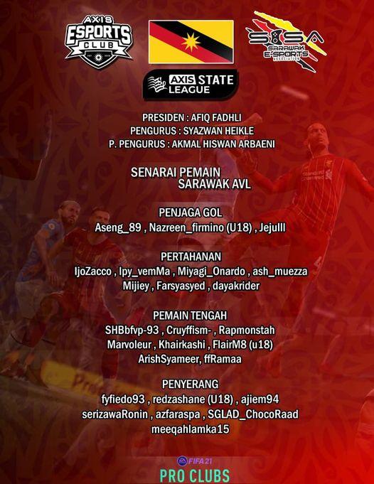 AXIS NATIONAL VIRTUAL LEAGUE SEASON 21/22  by Axis Esports   Tahniah & syabas ke…