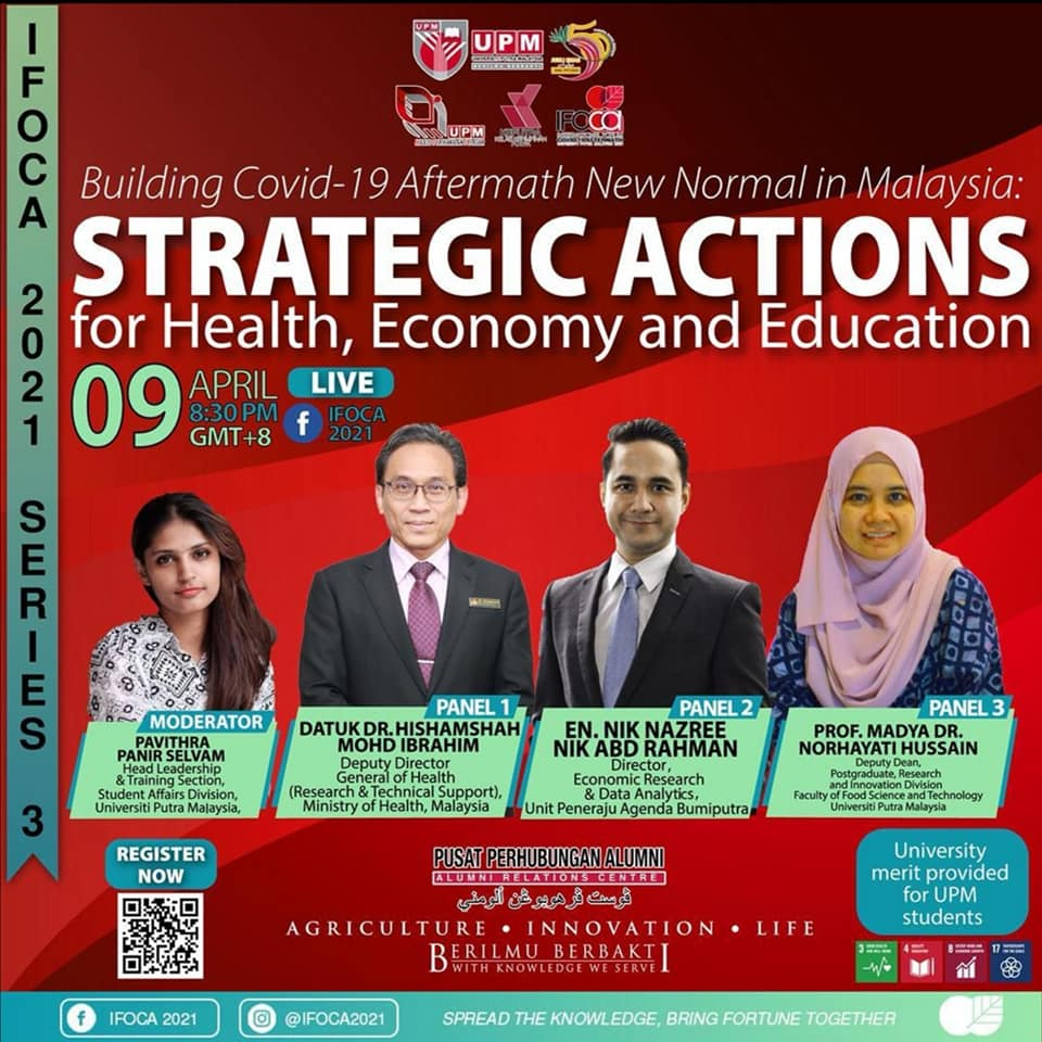 [ IFOCA SERIES 3]  *BUILDING COVID-19 AFTERMATH NEW NORMAL IN MALAYSIA: STRATEGI…