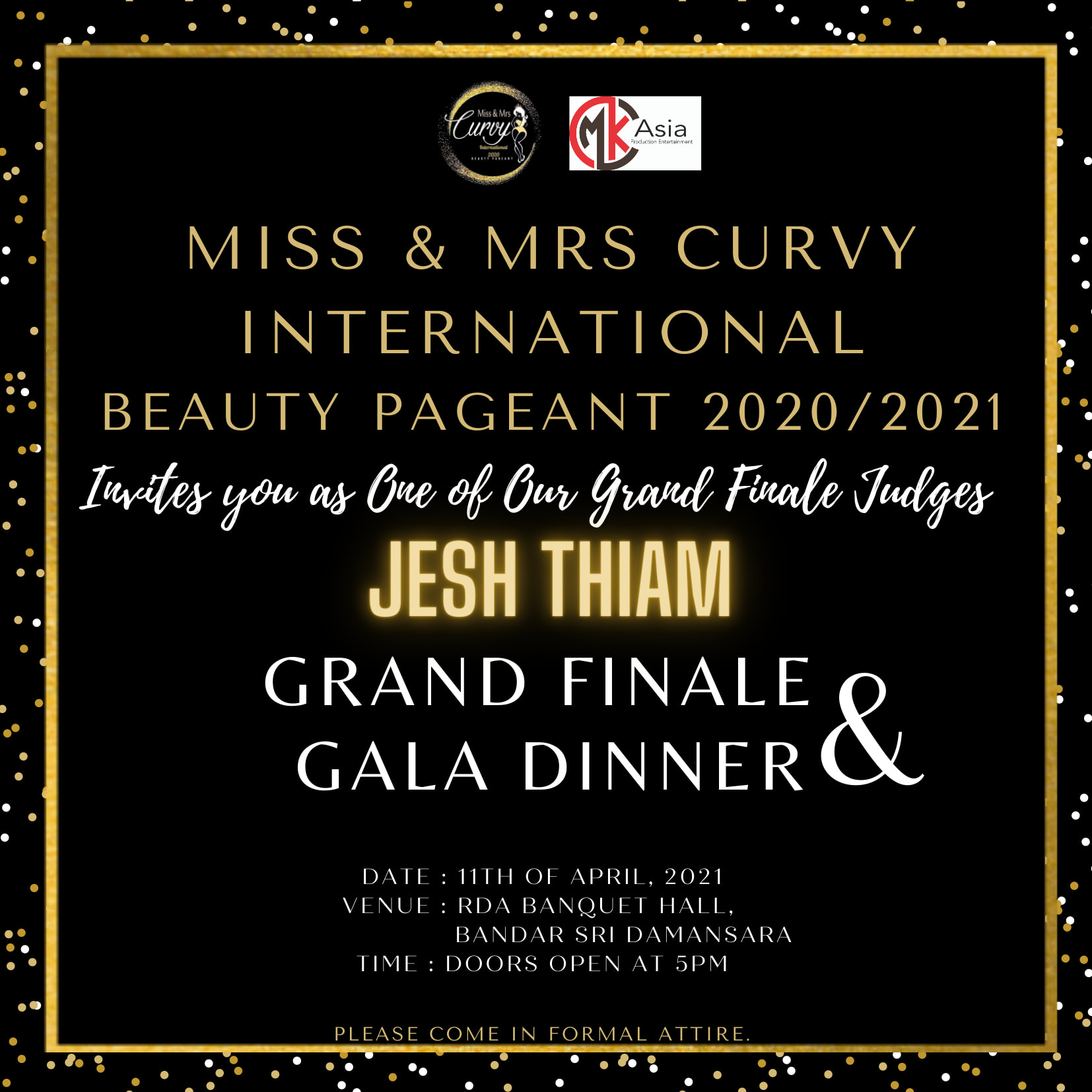 We are happy to announce that bookd! will be supporting Miss and Mrs Curvy Inter…