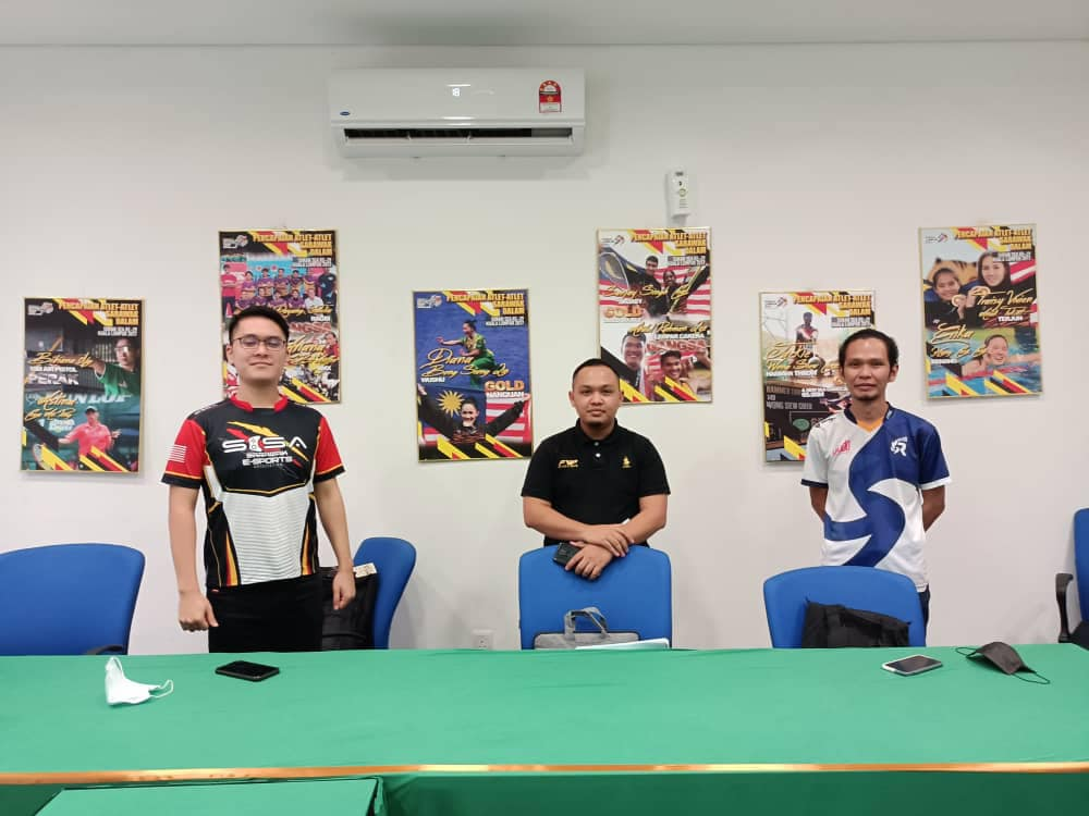 Jurulatih MLBB, PES & DOTA 2 bagi pasukan Esports Sarawak ke SUKMA 2022, Johor h…