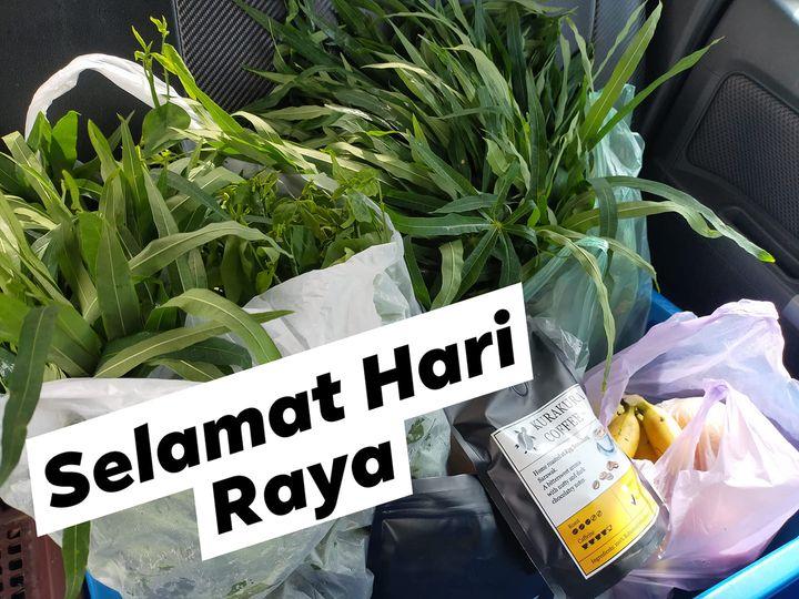 Delivery on the way : SELAMAT HARI RAYA AIDILFITRI