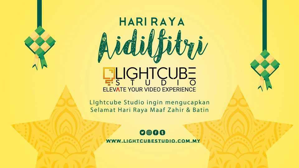 kami dari team Lightcube Studio ingin mengucapkan Selamat Hari Raya Maaf Zahir &…