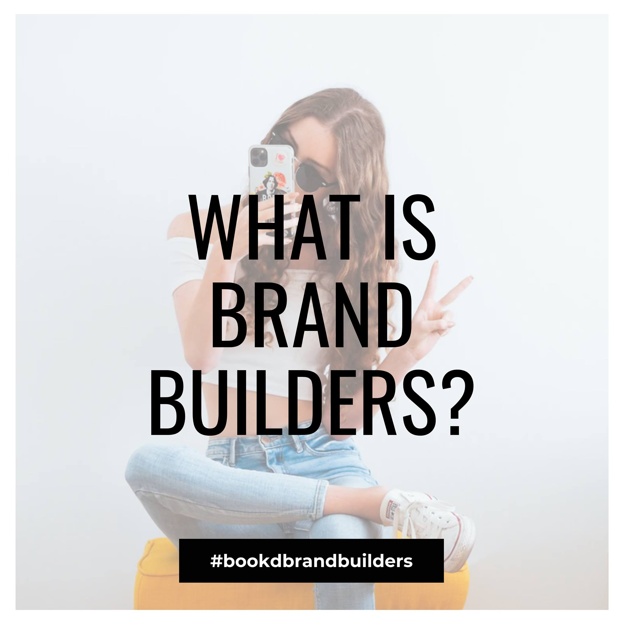 Coming Soon! bookd! Brand Builders. A new program, open to all verified talents,…