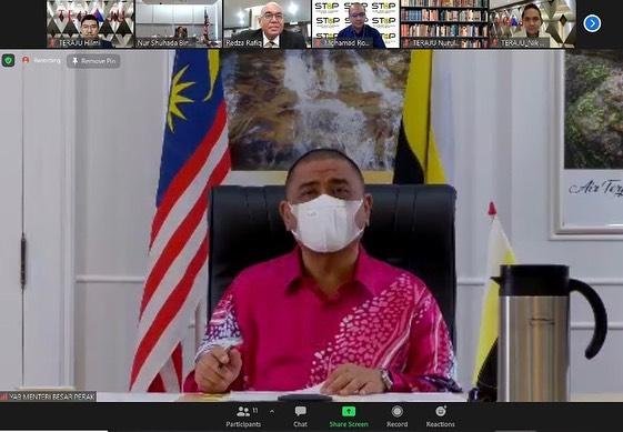 Satu sesi taklimat dan perbincangan dari pihak TERAJU bersama YAB Menteri Besar …