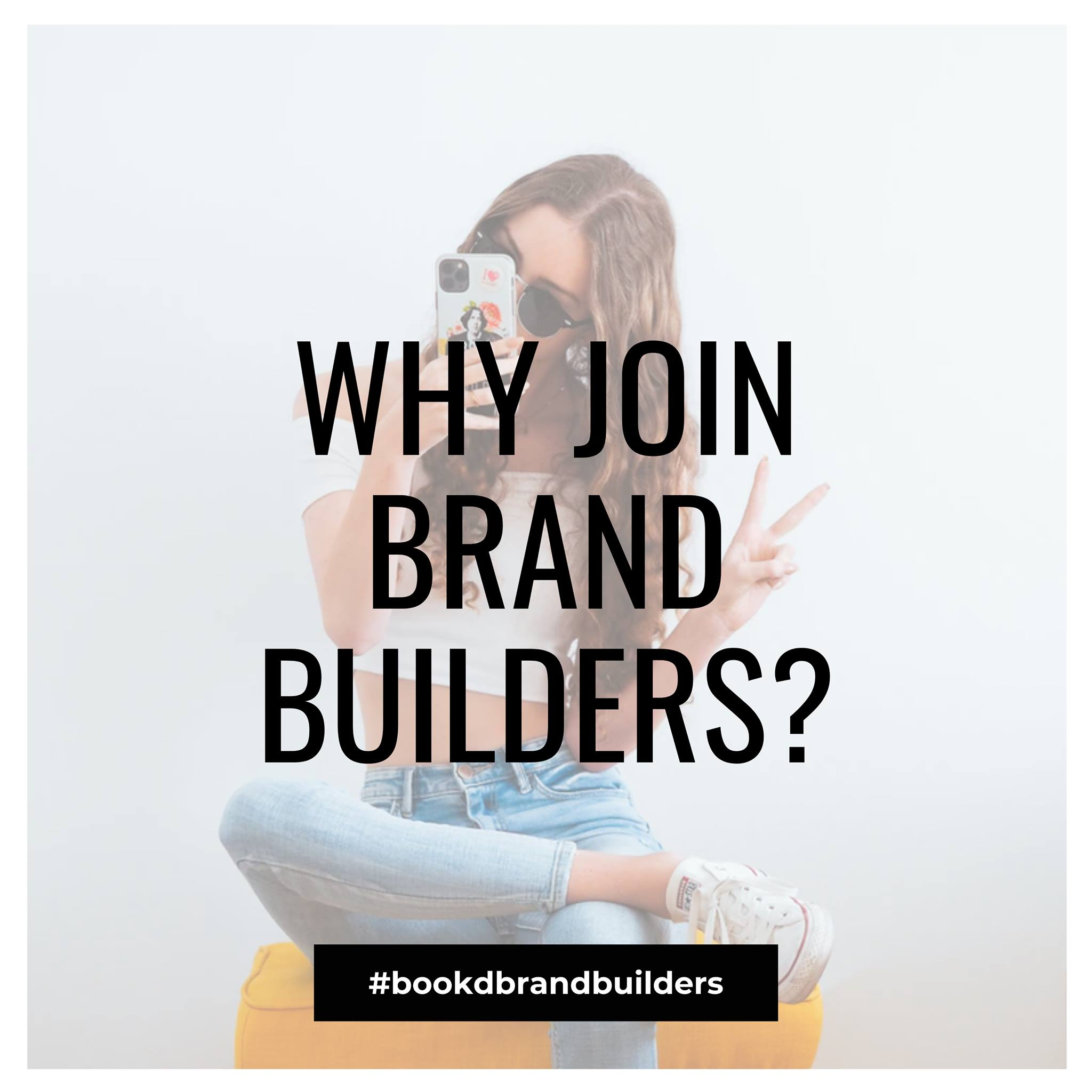 #1: WHY JOIN BRAND BUILDERS? #2: New opportunities to earn income immediately   …
