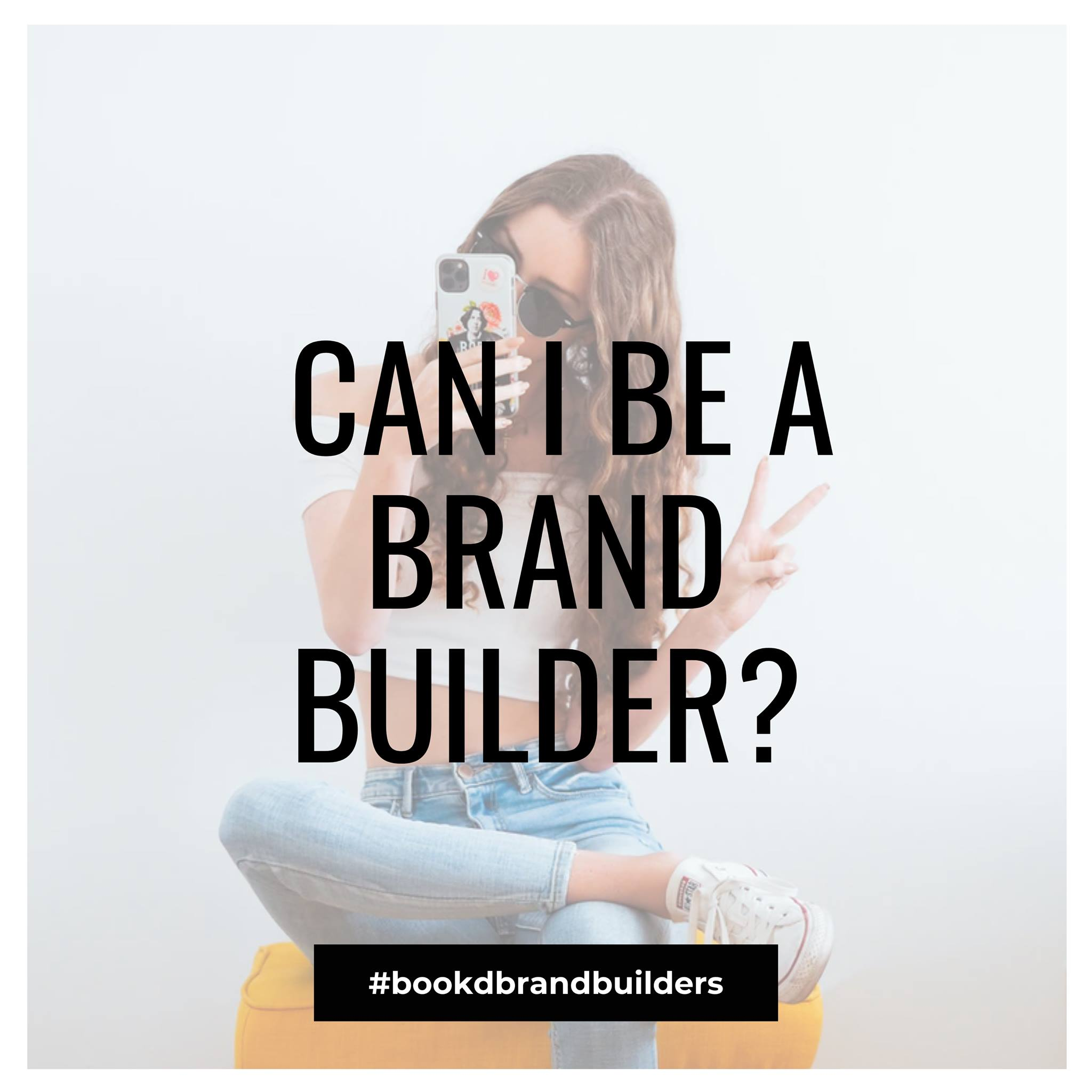 Who can be a Brand Builder? Well, anyone who is a verified bookd! talent, to sta…