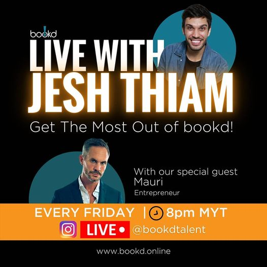 Tonight at 8pm MYT! Join #livewithjeshthiam on the Chooseday with @the.mauri seg…