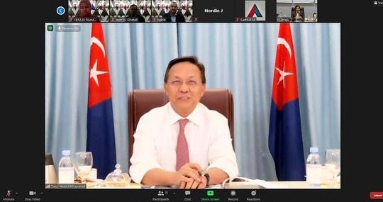 TERAJU bersama YAB Dato' Ir. Haji Hasni bin Haji Mohammad, Menteri Besar Johor, …