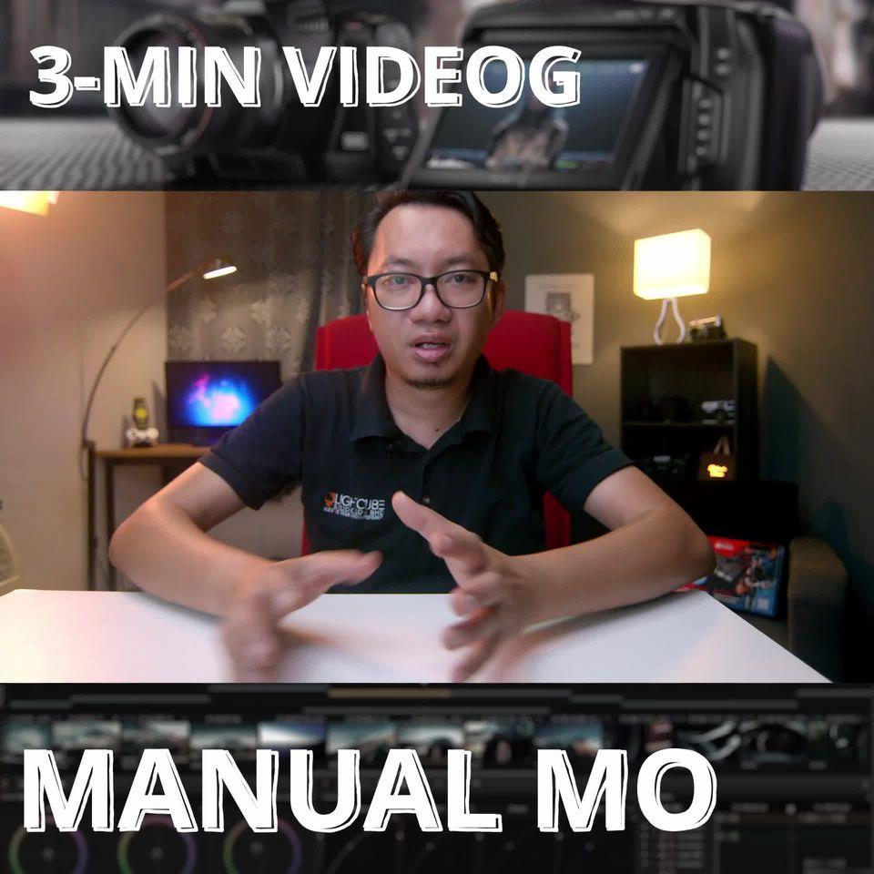 3 Minit Videografi  Maok belajar videografi? Percuma jak tok. Kmk share dengan k…