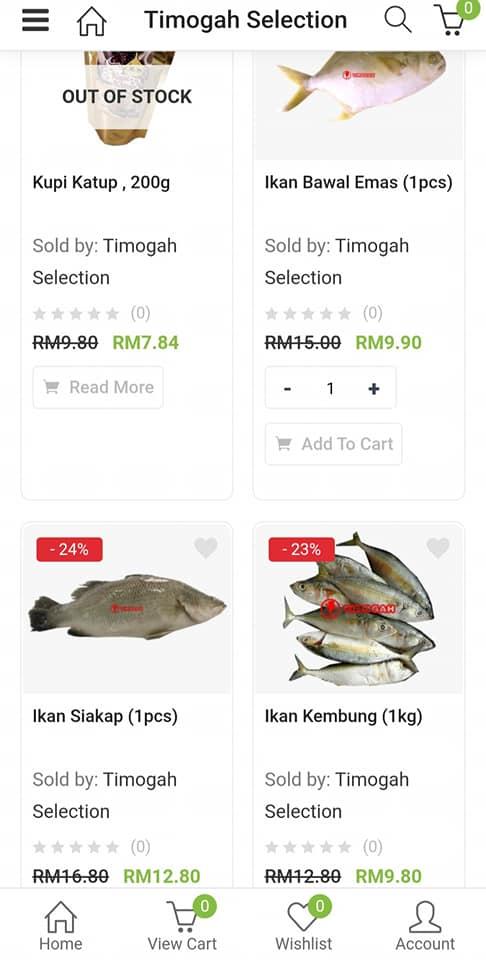 Pelbagai produk, pelbagai tawaran harga! Jom shopping online di TIMOGAH @ www.ti…