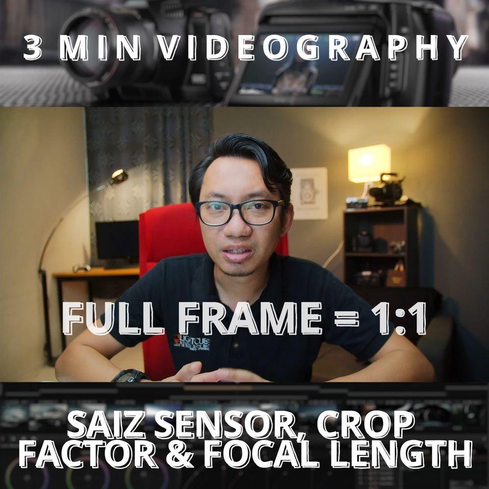 3 Minit Videografi  Tapi kali tok terlajak sikit.   Maok belajar videografi? Per…