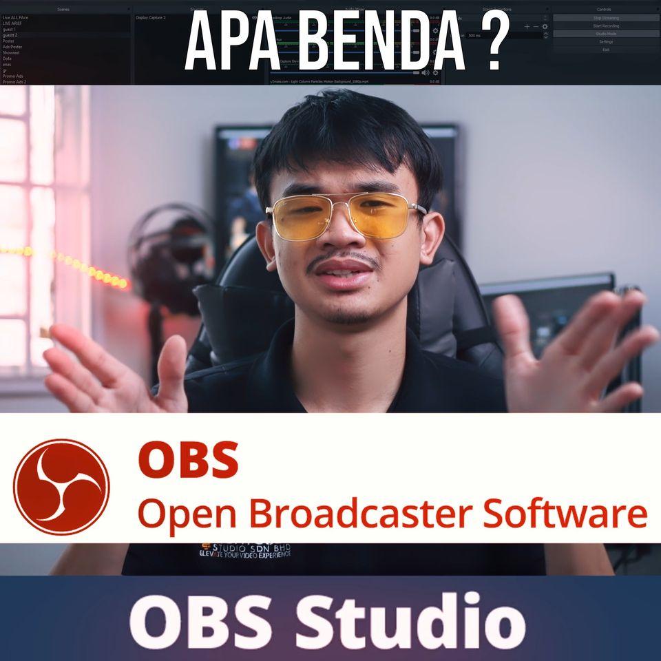 OBS Studio adalah rangkaian perisian sumber terbuka dan percuma untuk rakaman da…
