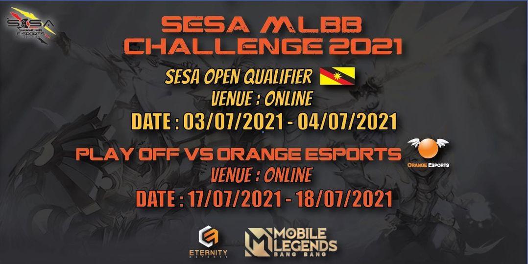 Kepada semua pemain MLBB di Sarawak, peluang untuk anda bermain dengan pemain pr…