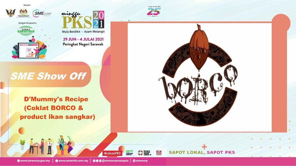 SAPOT LOKAL, SAPOT PKS  SESI SME SHOW OFF  Bersama  D'Mummy's Recipe (Coklat BOR…