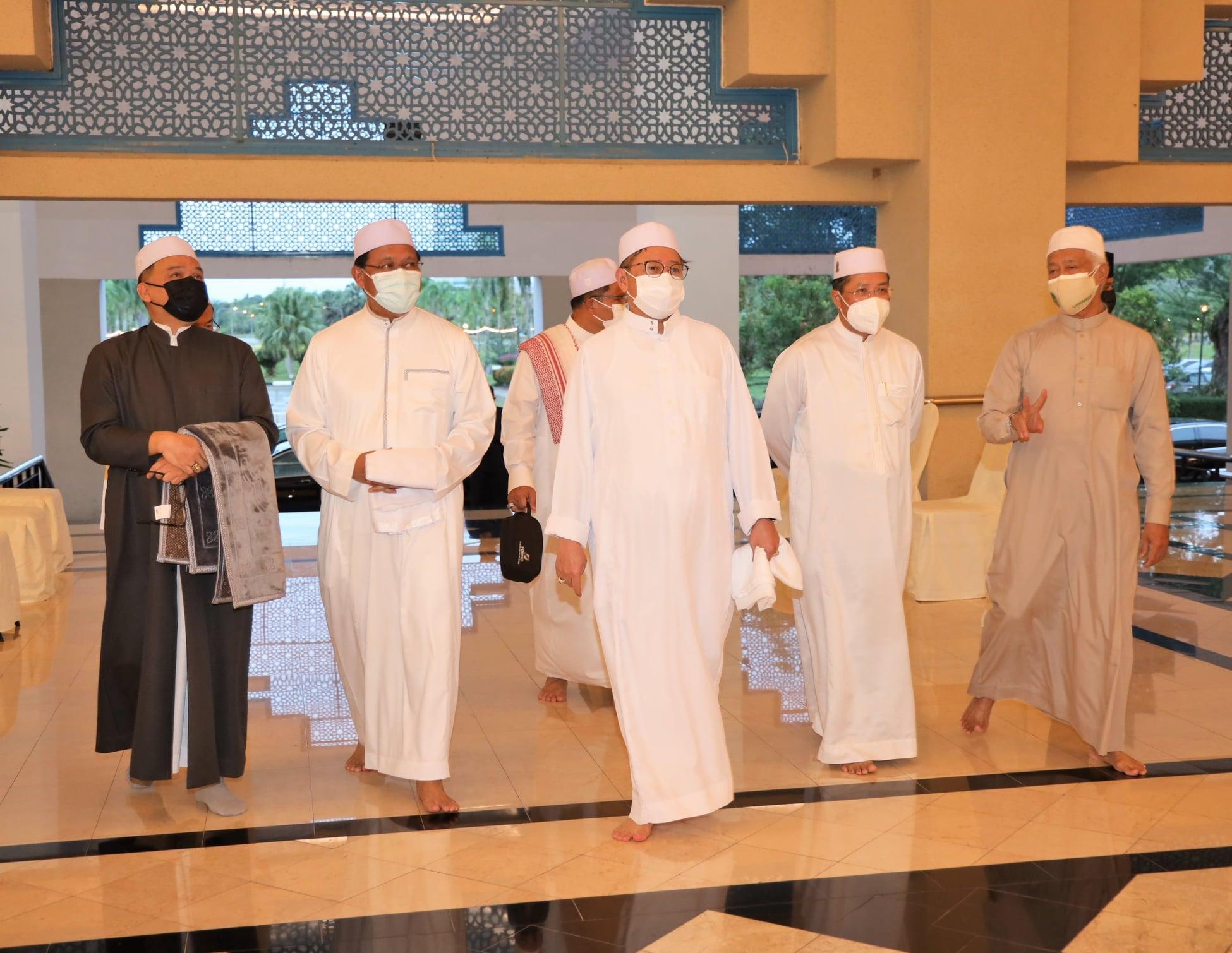 Majlis Sarawak Bermunajat Peringkat Negeri Sarawak 1442H di Masjid Jamek Petra J…