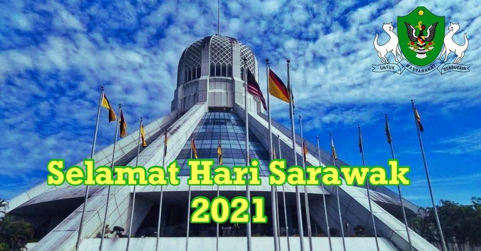 Selamat Menyambut Hari Sarawak 2021!!! #staysafe #kitajagakita #togetherwecar…