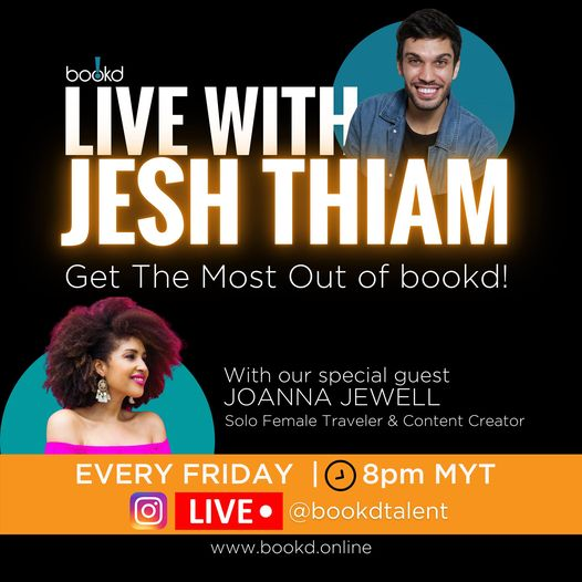 She's back again with more!  Tune in tomorrow night #livewithjeshthiam with our …
