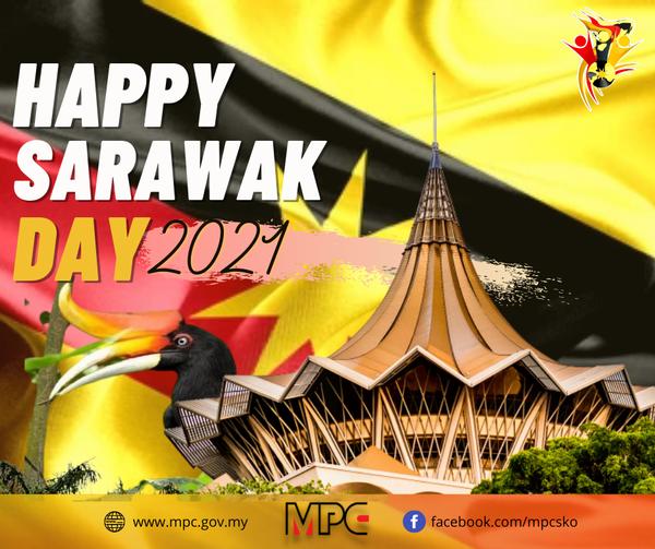 Happy 58th Sarawak Day!   𝐃𝐚𝐫𝐢 𝐬𝐞𝐦𝐮𝐚 𝐰𝐚𝐫𝐠𝐚 Malaysia Productivity Corporation (MP…