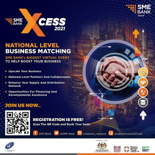 The time is now!  Experience SME Bank's Biggest Virtual Business Matching event …
