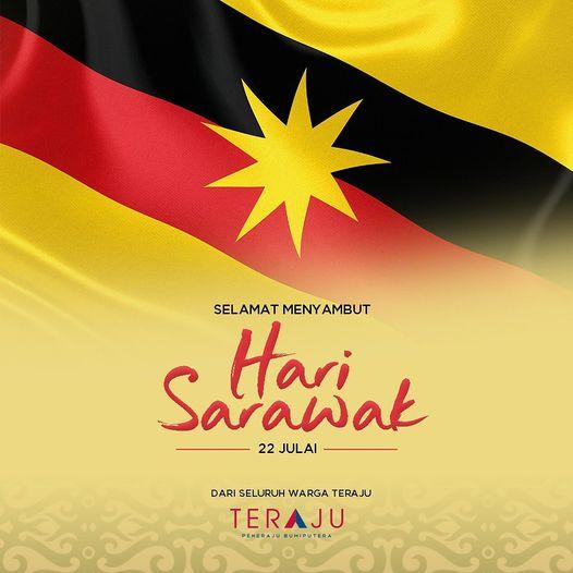 Selamat Menyambut Hari Sarawak buat kitak rakyat Sarawak  #terajuofficial #HariS…