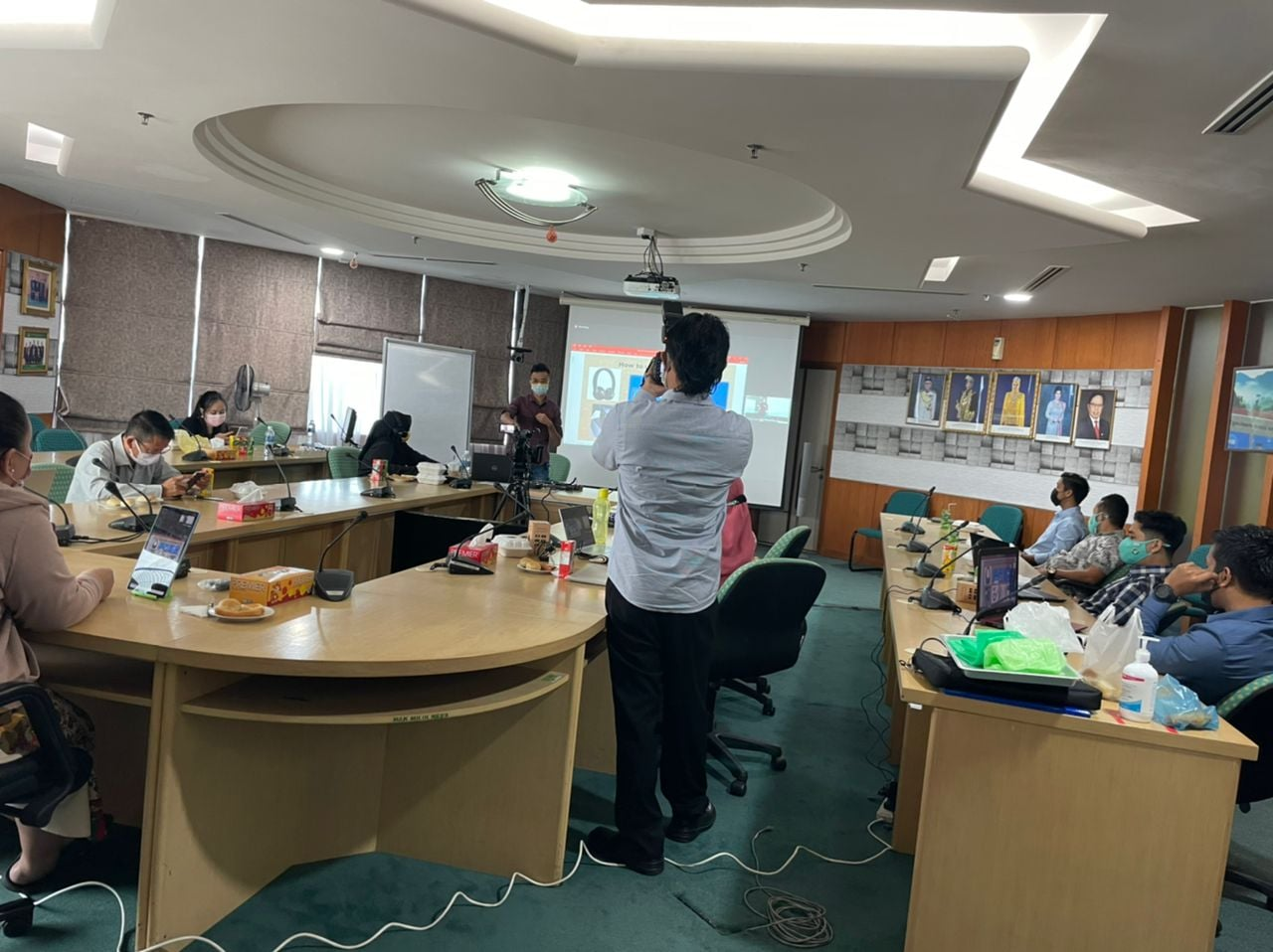 """Natural Resources and Environment Board, Sarawak LiveStream Training Day 2 : """"Ho…"""