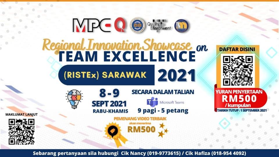 Konvensyen Regional Innovation Showcase on Team Excellence (RISTEx) Peringkat Wi…