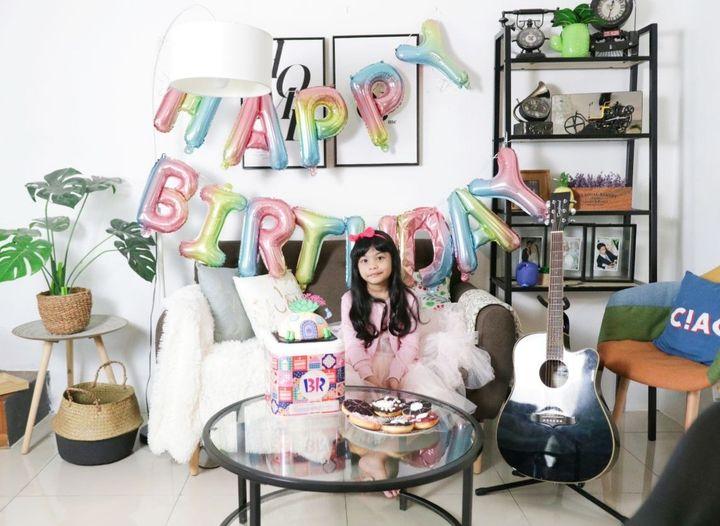 Birthday Sirambut lebat yg k3 6…semoga membesar dgn sihat…