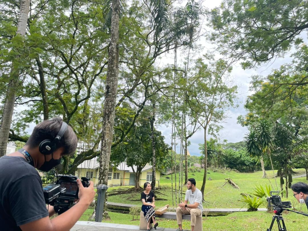 Were back gaiss… shooting done for our new TV series..  Sharing behind the sce…