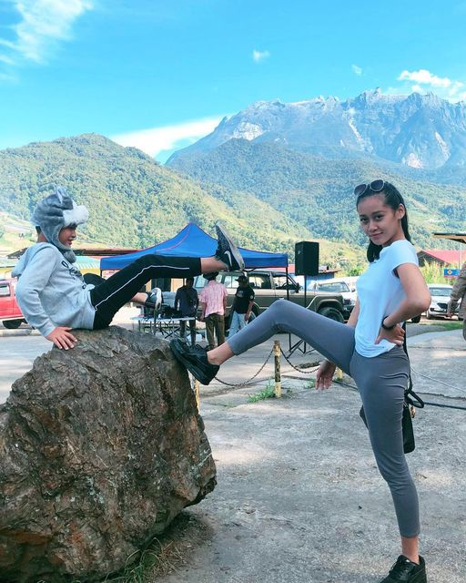 Andrew and Luhong take over Mount Kinabalu  #tinggitinggigunungkinabalu #sabah