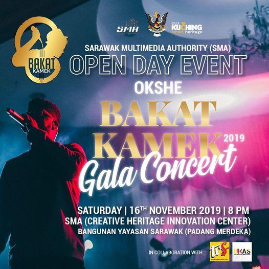 Jom rame-rame ktk orang hadir ke Bakat Kamek 2019 Gala Concert pada 16 November …
