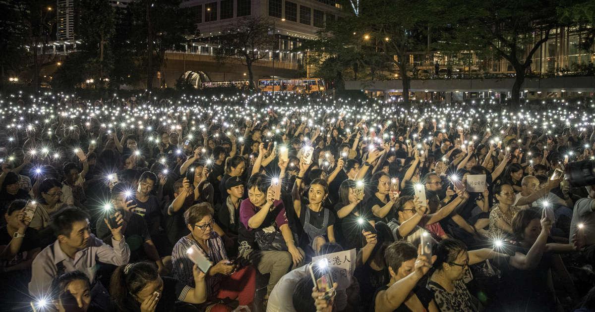 'We're next': Hong Kongers rally for China's Uighurs