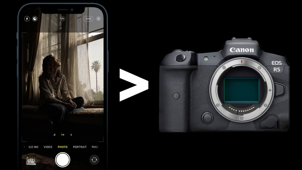 iPhone 12 Pro to get more dynamic range than the Canon EOS R5!