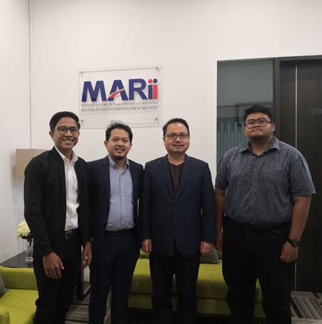 IMM IAViC 19′ organizing commitee visit to Malaysia Automotive, Robotics & IoT Institute (MARii)