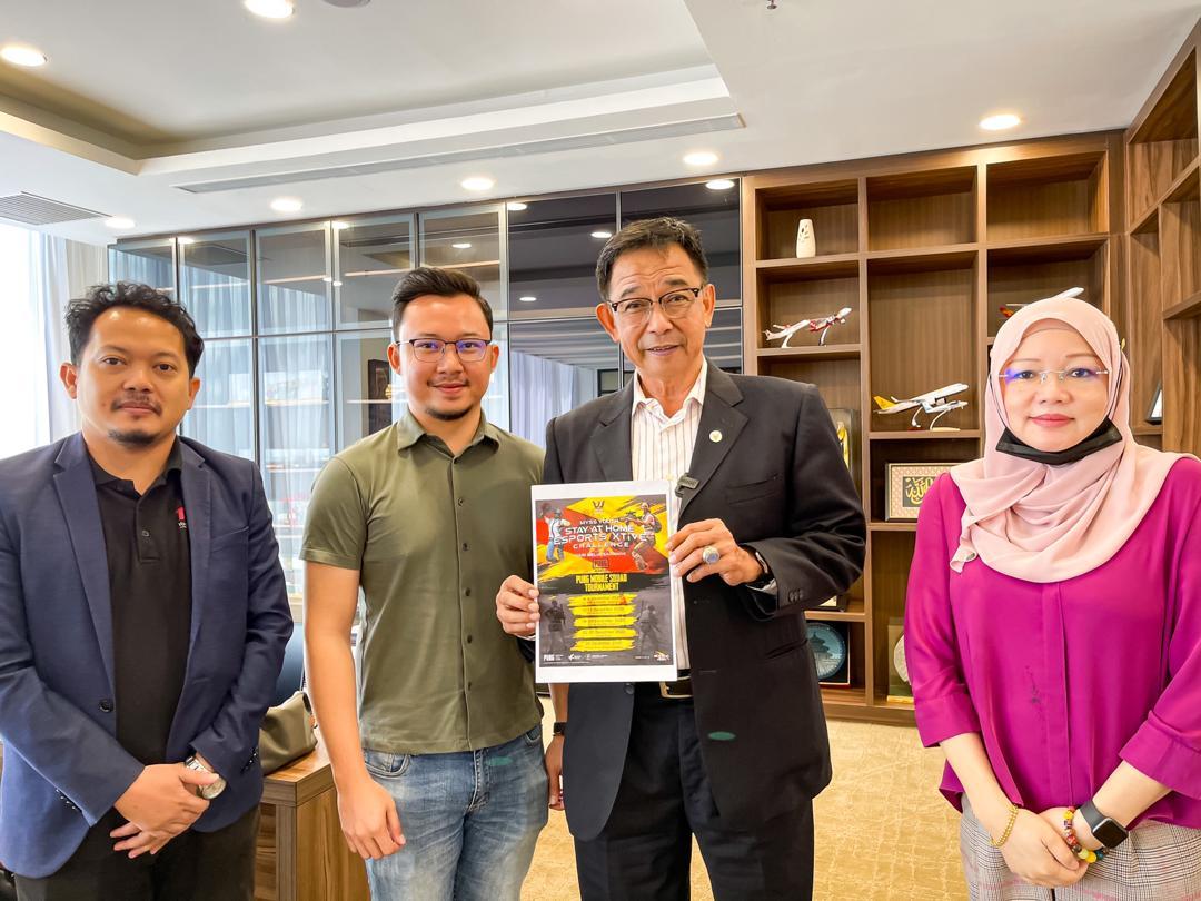 Pertandingan sukan dalam talian selama sebulan – Sarawakvoice.com