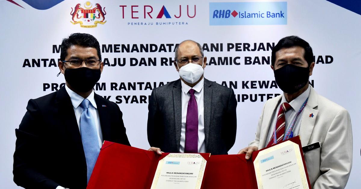 TERAJU, RHB Islamic sedia RM126 juta untuk PKS   Berita Harian