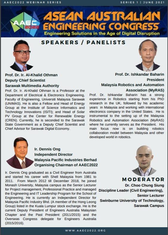 ASEAN Australian Engineering Congress – Old Kuching Smart Heritage