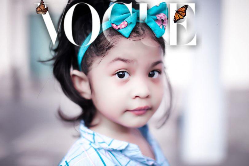Si Rambut lebat in Issue #voguemagazine
