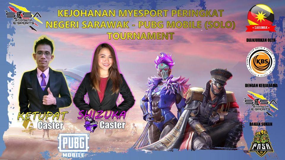 Jangan lupa saksikan live stream Kejohanan MyEsports PUBG MOBILE Negeri Sarawak …