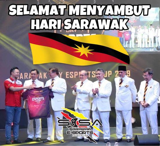Selamat Menyambut Hari Sarawak.   #722 #SarawakDay
