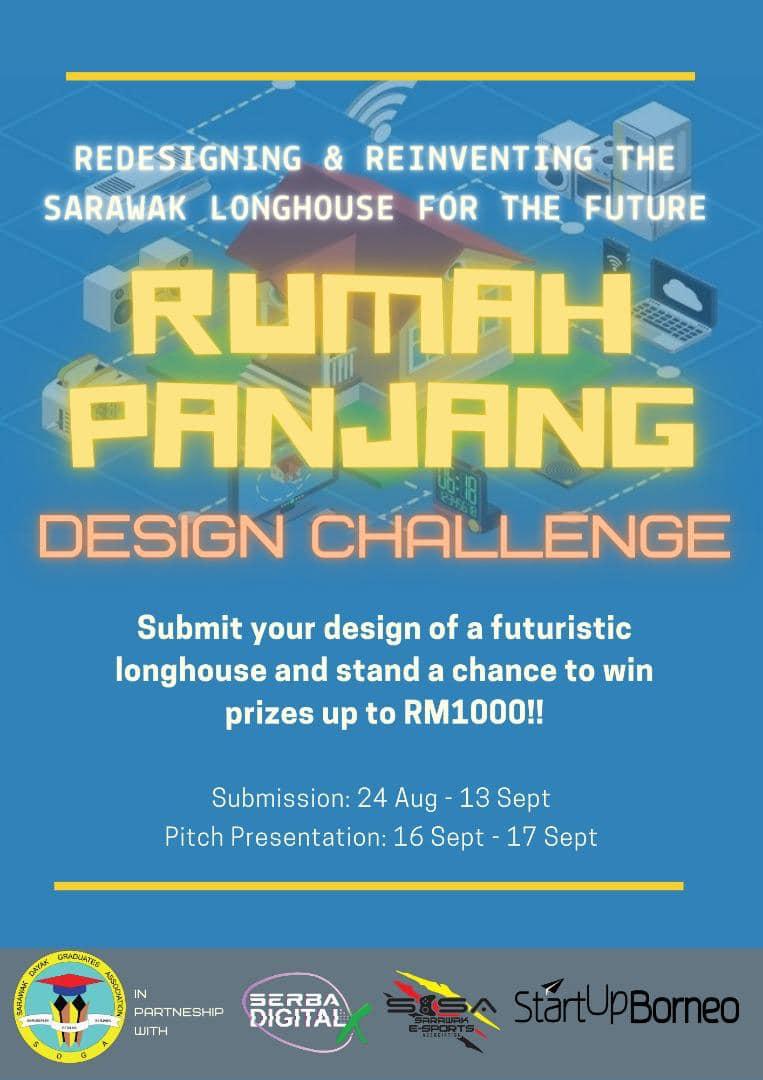 """""""RUMAH PANJANG"""" DESIGN CHALLENGE  Sarawak Dayak Graduates Association, in partne…"""