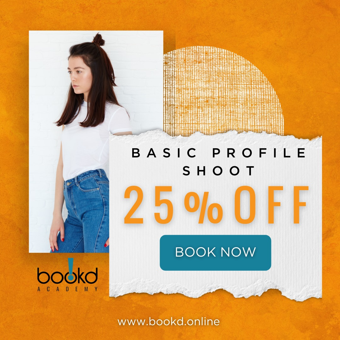 Book Your Slot with 25 % OFF for our 1-hour Basic Profile Shoot. Limited Time Of…