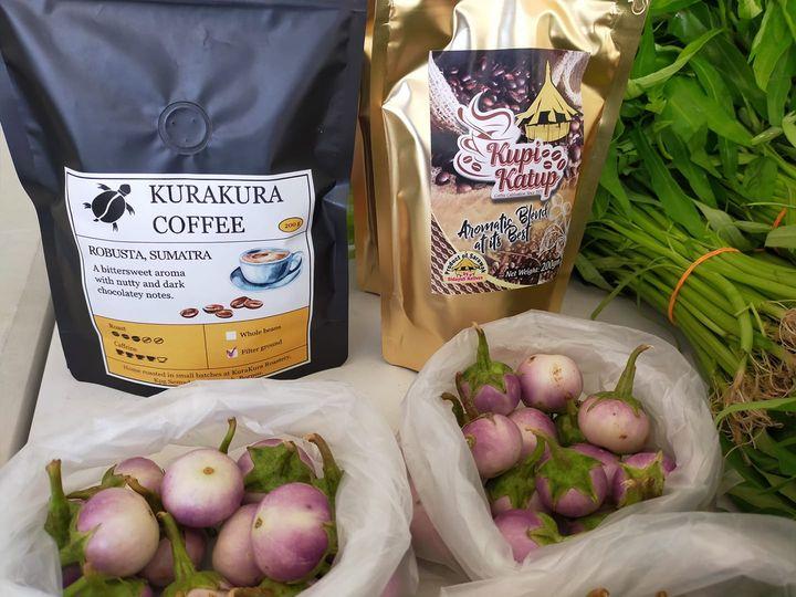 Produk kopi tempatan juga ada dijual di sini atau order online untuk delivery ke…