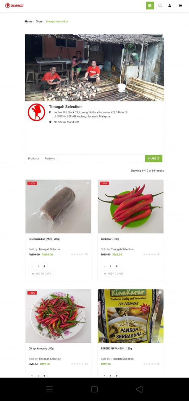 Online shopping di www.timogah.com – delivery seluruh Kuching! Jom beli pelbagai…