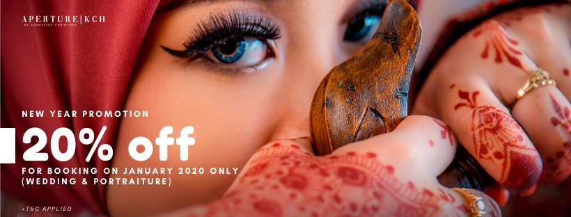 2020 New Year Promotion | 20% off Wedding & Portraiture package | FOR BOOKIN…